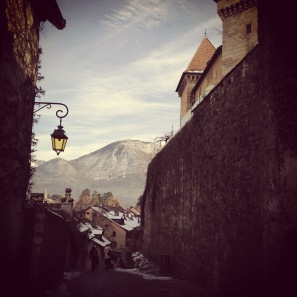 Annecy Castle Ramparts